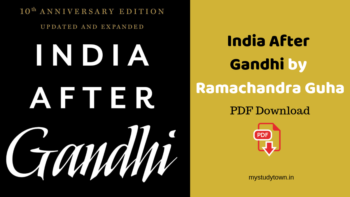 India After Gandhi by Ramachandra Guha PDF