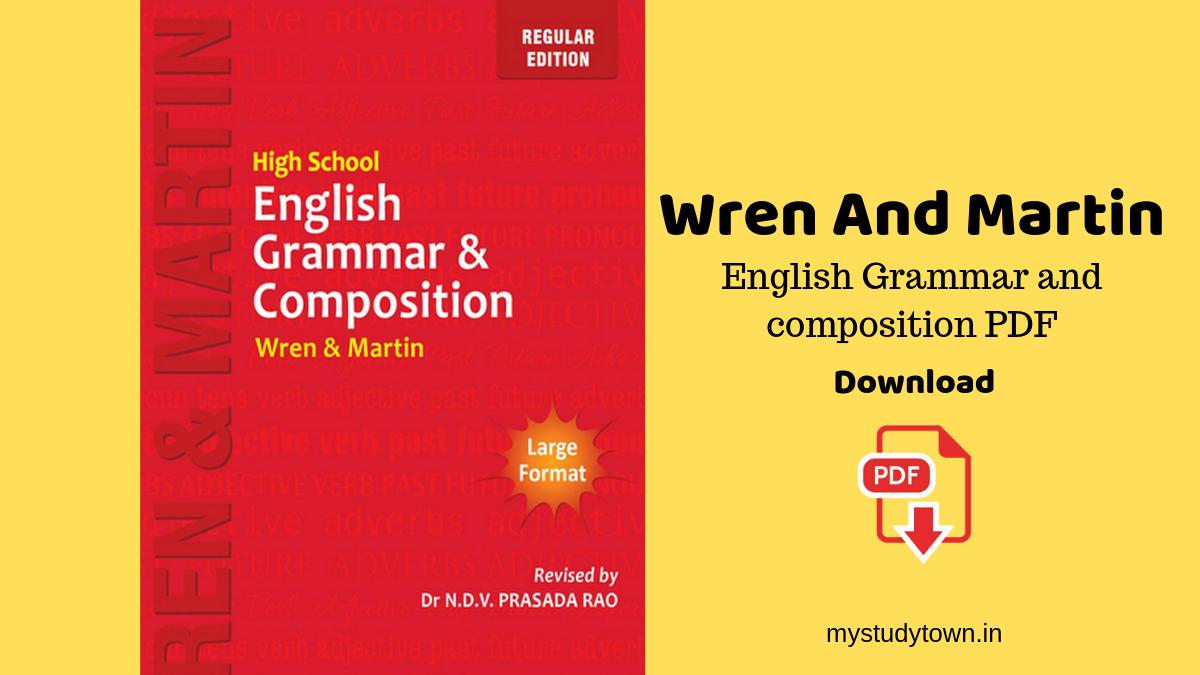 Wren And Martin PDF