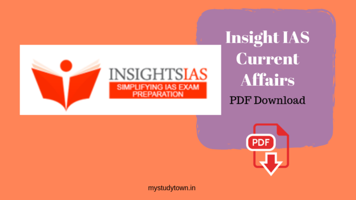 Insight IAS Current Affairs