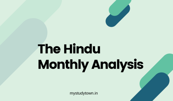 The Hindu Analysis monthly PDF Download [July 2019]