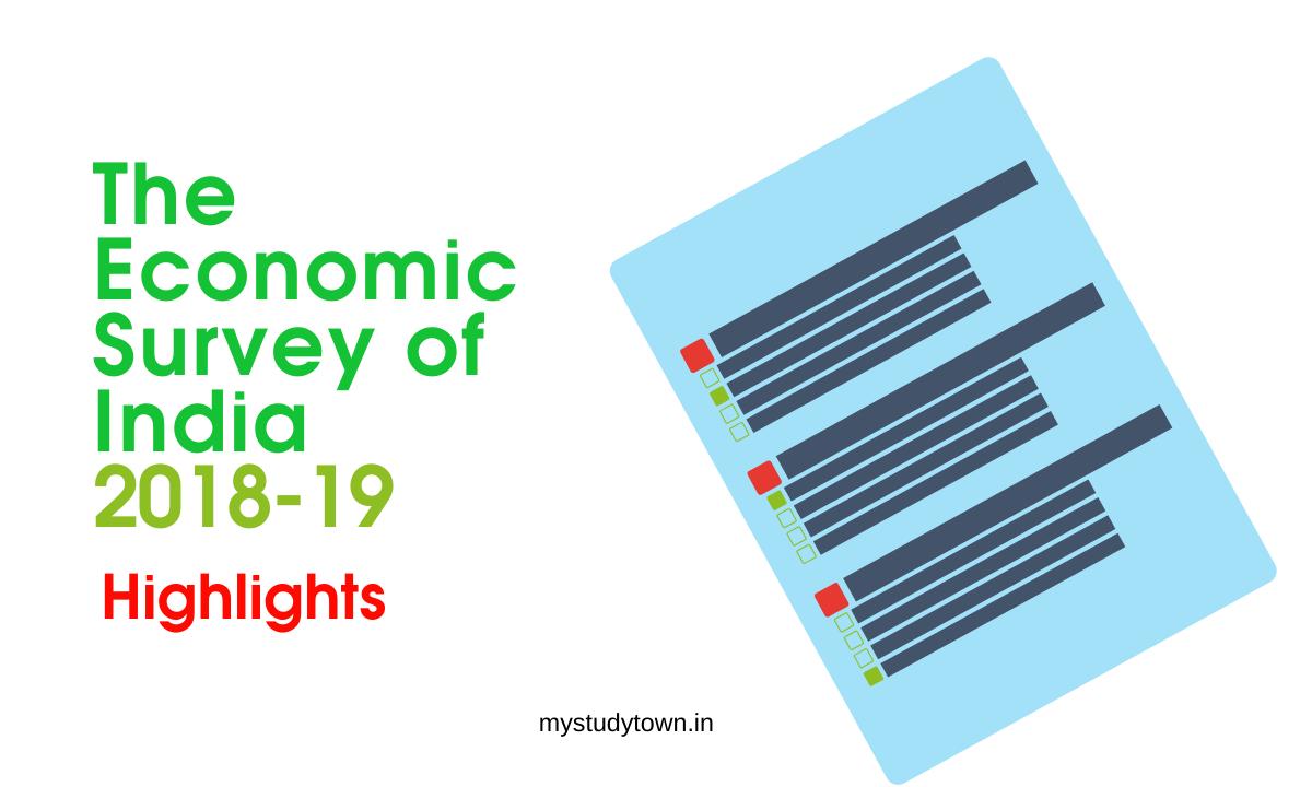 The Economic Survey of India