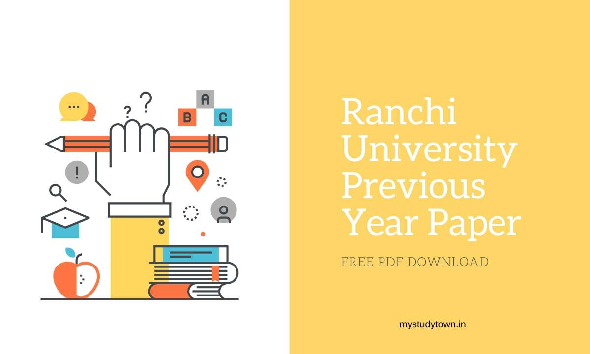 Ranchi University Previous Year Paper