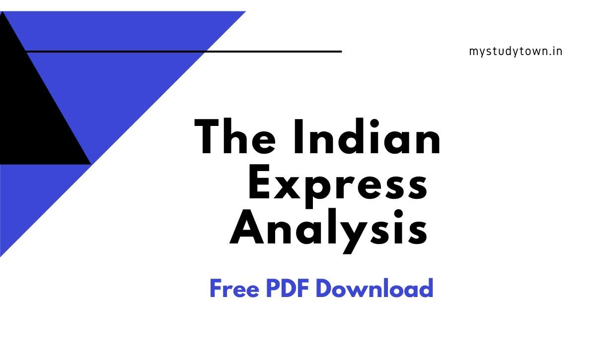Indian Express Analysis