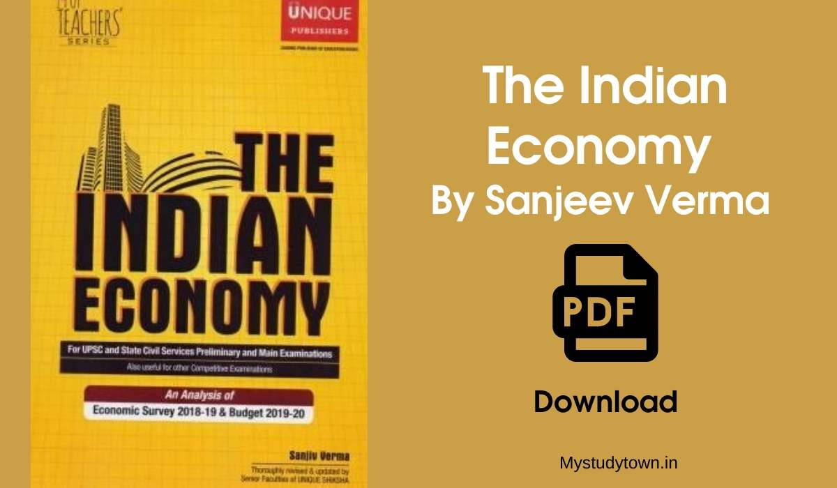 Indian Economy By Sanjeev Verma PDF