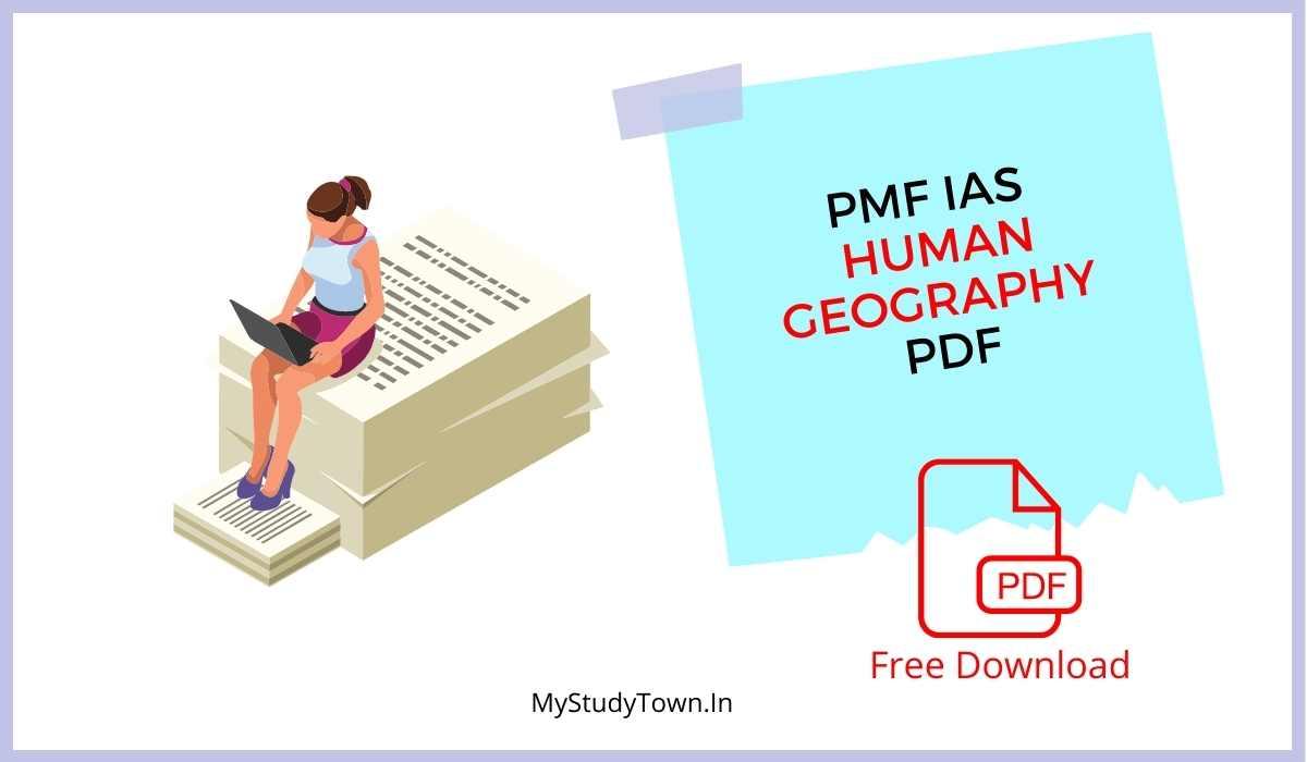 PMFIAS Human Geography PDF